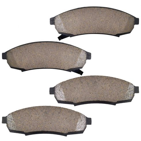 Front Ceramic Disc Brake Pads (CD376)
