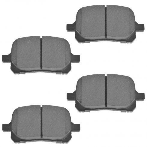Front Semi-Metallic Disc Brake Pads (MD707)