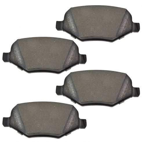 Rear Semi-Metallic Disc Brake Pads (MD1377)