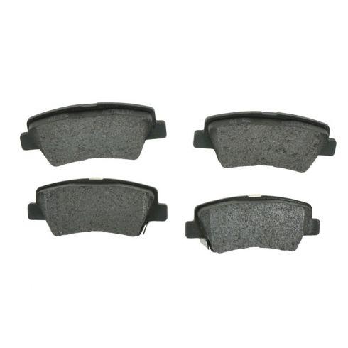 Rear Semi-Metallic Disc Brake Pads (MD1313)