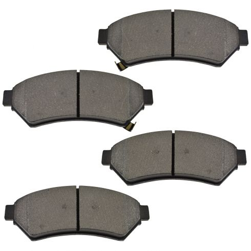 Front Semi-Metallic Disc Brake Pads (MD1075)