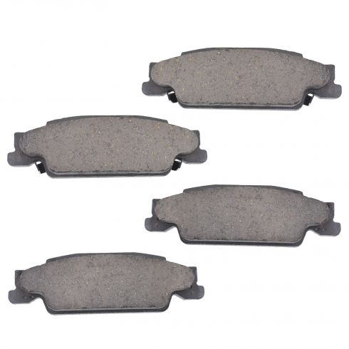 Rear Ceramic Disc Brake Pads (CD922)
