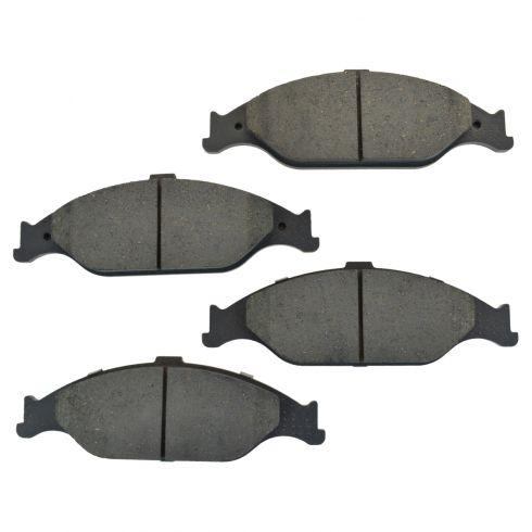 Front Ceramic Disc Brake Pads (CD804)