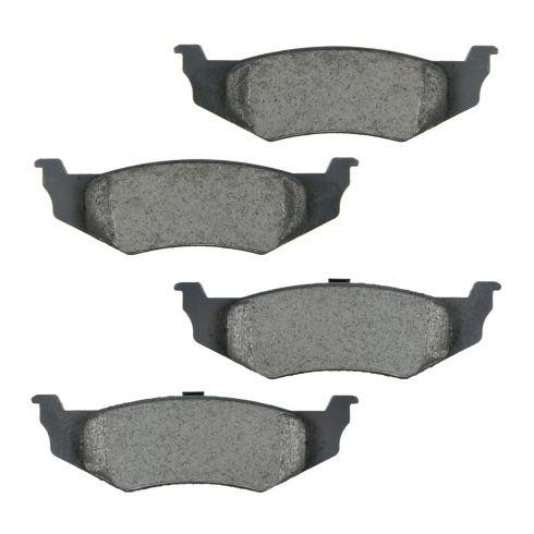 Rear Ceramic Disc Brake Pads (CD759)