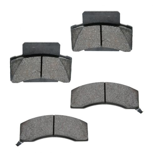 Front Semi-Metallic Disc Brake Pads  (MD459)