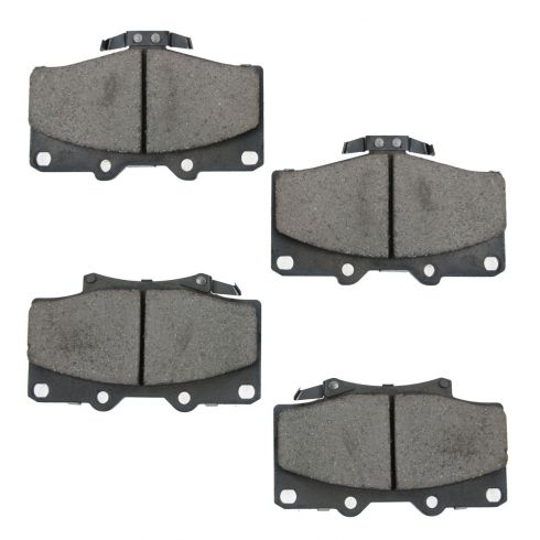 Front Ceramic Disc Brake Pads  (CD611)