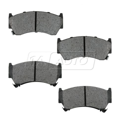 Front Semi-Metallic Disc Brake Pads  (MD668)