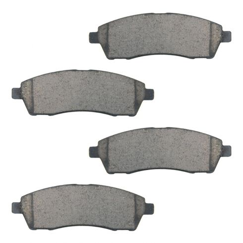 Rear Ceramic Disc Brake Pads  (CD757)