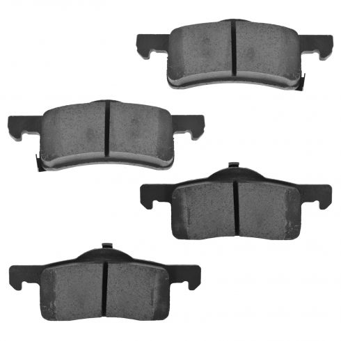 Rear Ceramic Disc Brake Pads  (CD935)