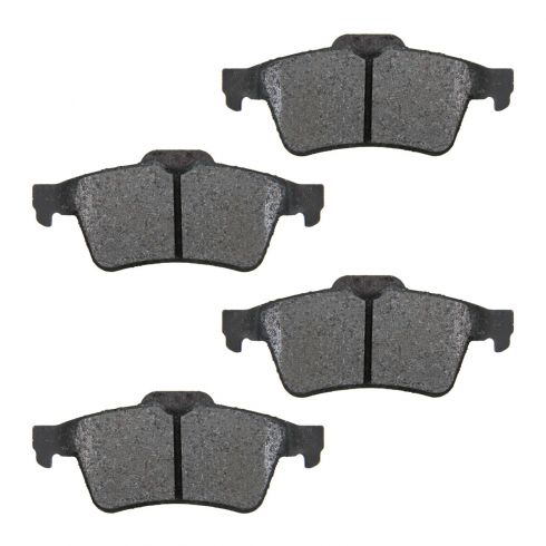 Rear Semi-Metallic Disc Brake Pads  (MD973)
