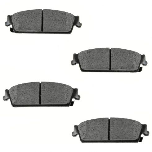 Rear Semi-Metallic Disc Brake Pads  (MD1194)