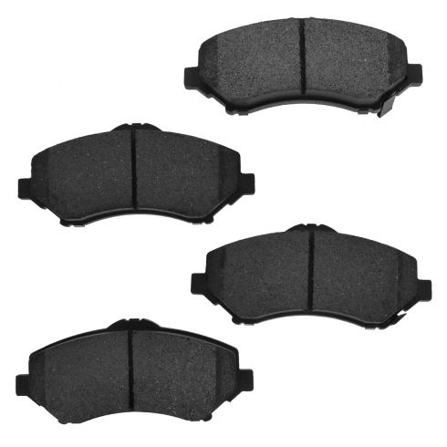 Front Semi-Metallic Disc Brake Pads  (MD1273)