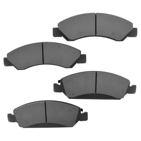 Front Semi-Metallic Disc Brake Pads  (MD1367)