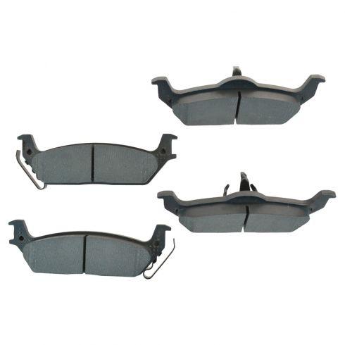 Rear Semi-Metallic Disc Brake Pads (MD1012)