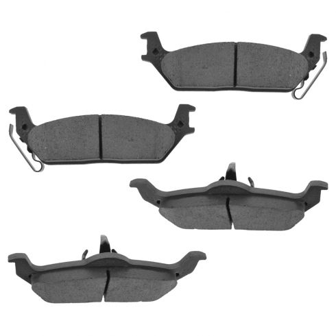 04-11 Ford F150 (w/6 Lug Whl) Rear Premium Posi Ceramic Disc Brake Pads (CD1012)