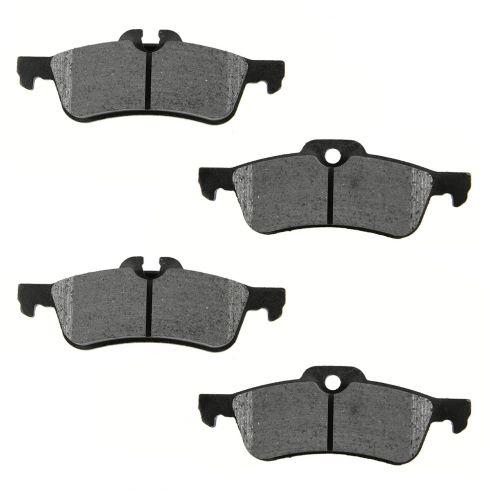 Rear Ceramic Disc Brake Pads (CD1060)