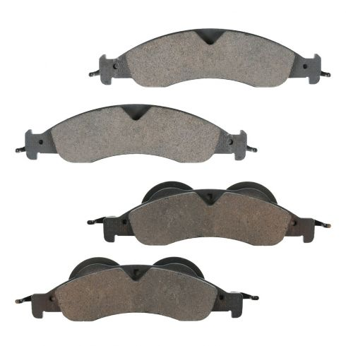 Front Ceramic Disc Brake Pads (CD1278)