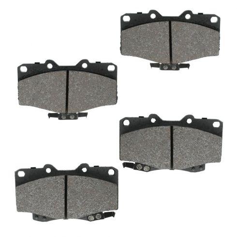 Front Semi-Metallic Disc Brake Pads (MD436)