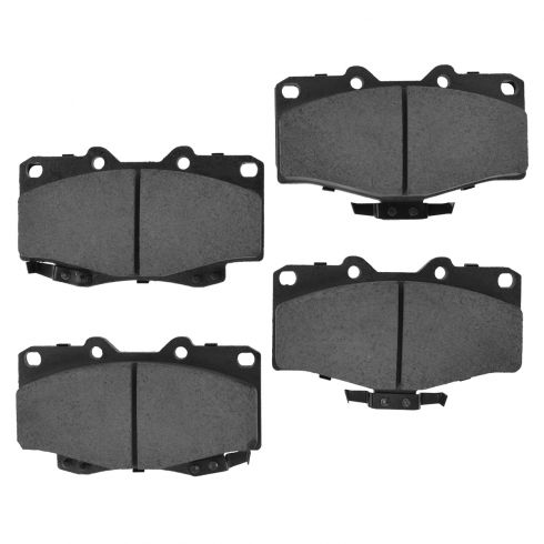 Front Ceramic Disc Brake Pads (CD436)