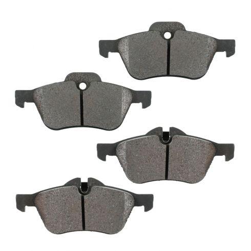 Front Semi-Metallic Disc Brake Pads (MD939)