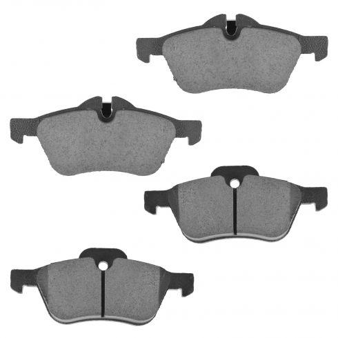 Front Ceramic Disc Brake Pads (CD939)