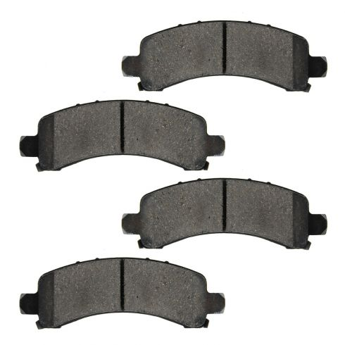 Rear Ceramic Disc Brake Pads (CD974)
