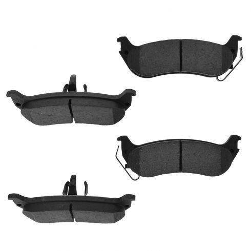 Rear Ceramic Disc Brake Pads (CD998)