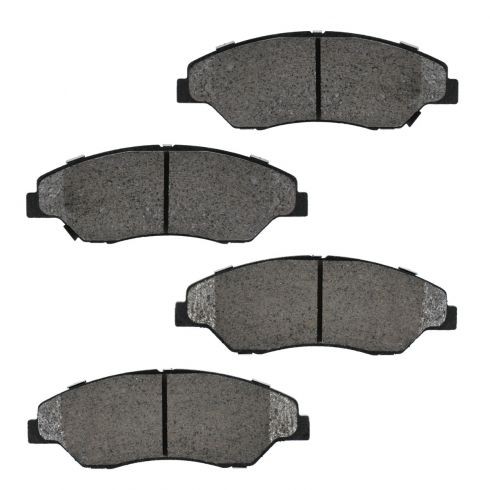 Front Semi-Metallic Disc Brake Pads (MD774)