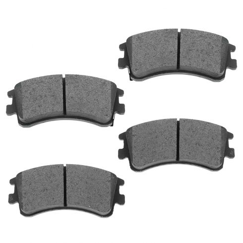 Front Semi-Metallic Disc Brake Pads (MD957)