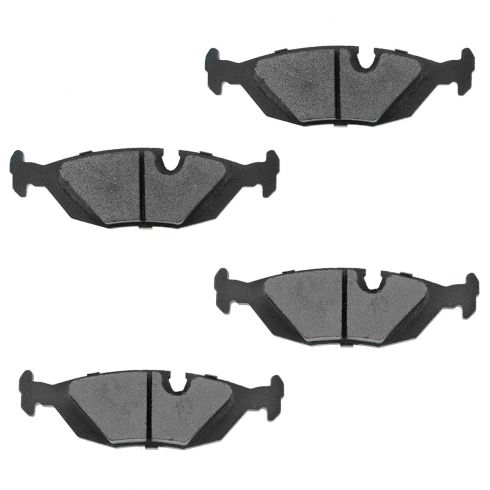 Rear Semi-Metallic Disc Brake Pads (MD279)