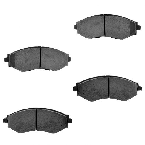 Front Ceramic Disc Brake Pads (CD797)
