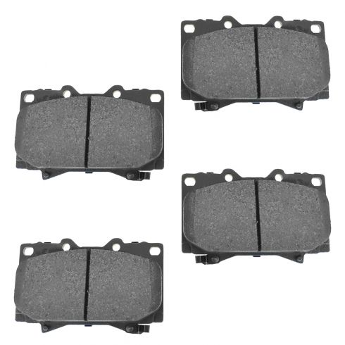 Front Semi-Metallic Disc Brake Pads (MD772)