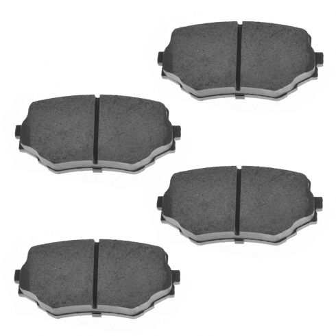 Front Ceramic Disc Brake Pads (CD680)