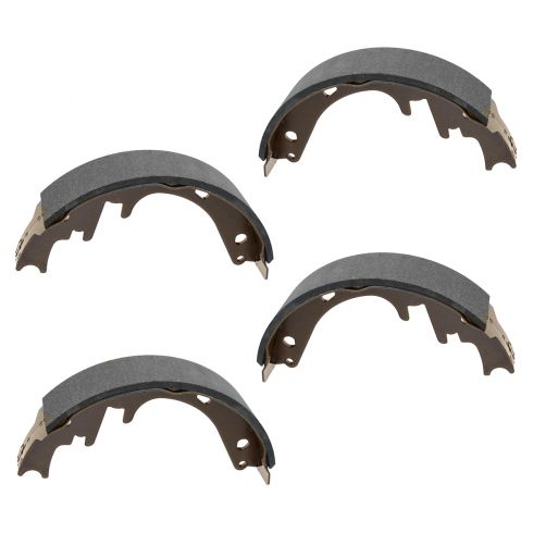 87-96 Bronco; 87-96 F150 (exc 93-95 Lightning) 87-89 E150 Rear Brake Shoe SET (S582)