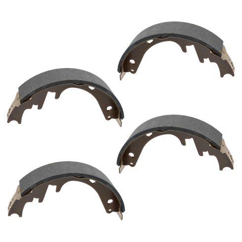 87-96 Bronco; 87-96 F150 (exc 93-95 Lightning) 87-89 E150 Rear Brake Shoe SET (S582)