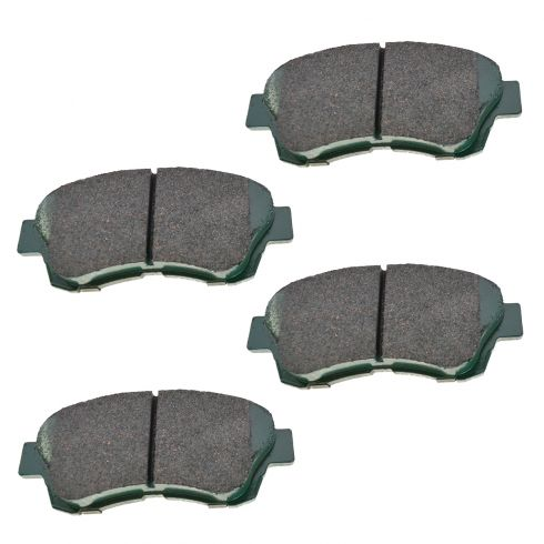 Front Premium Posi Ceramic Disc Brake Pads (CD697)