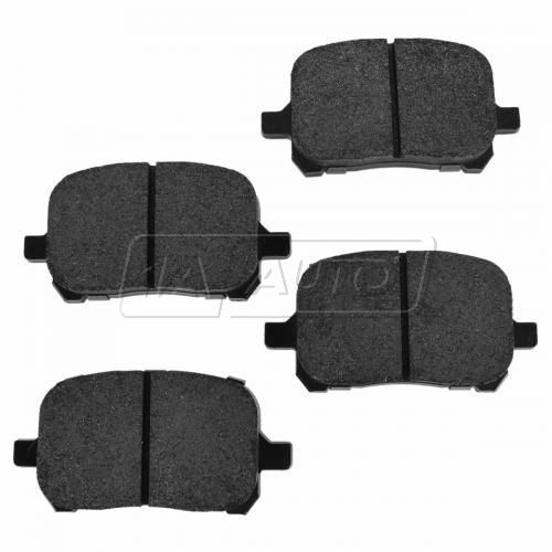 Front Premium Posi Metallic Disc Brake Pads (MD707)