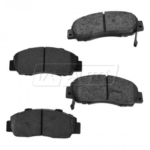Front Premium Posi Metallic Disc Brake Pads (MD503)