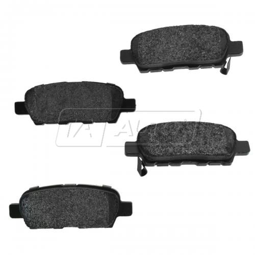 Rear Premium Posi Metallic Disc Brake Pads (MD905 / 1288)