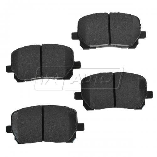 Front Premium Posi Ceramic Disc Brake Pads (CD923)