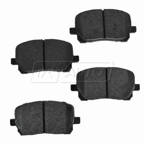 Front Premium Posi Metallic Disc Brake Pads (MD923)