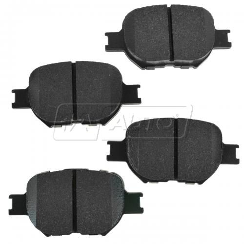 Front Premium Posi Ceramic Disc Brake Pads (CD817)