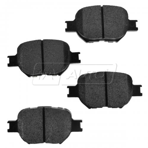 Front Premium Posi Metallic Disc Brake Pads (MD817)