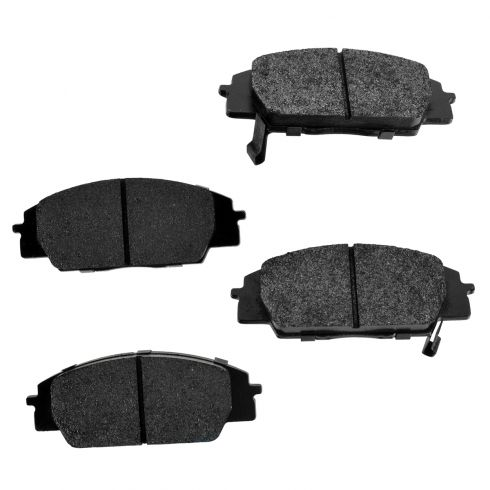 Rear Premium Posi Metallic Disc Brake Pads (MD537)
