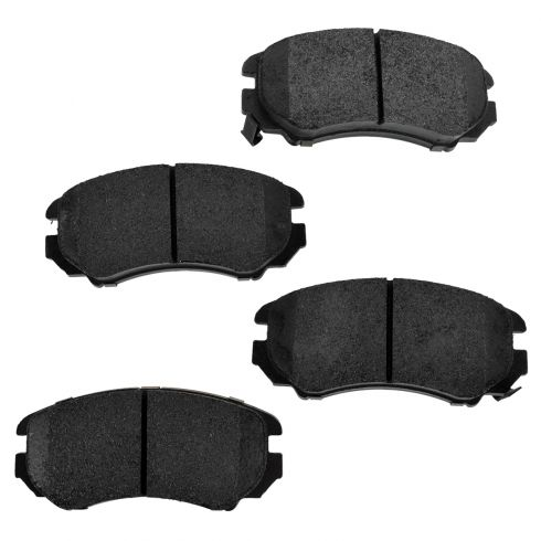 Front Premium Posi Metallic Disc Brake Pads (MD924)
