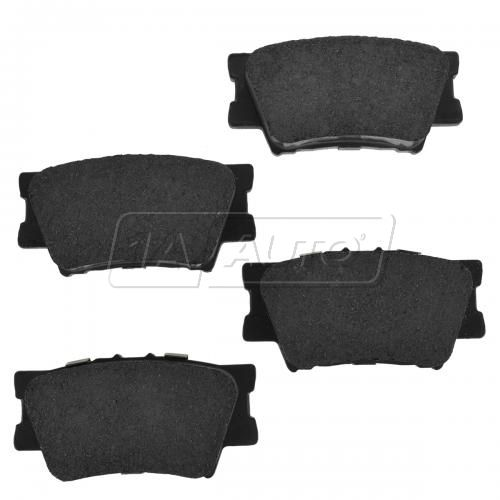 Rear Premium Posi Ceramic Disc Brake Pads (CD1212)