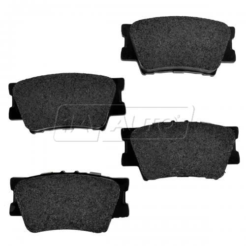 Rear Premium Posi Metallic Disc Brake Pads (MD1212)