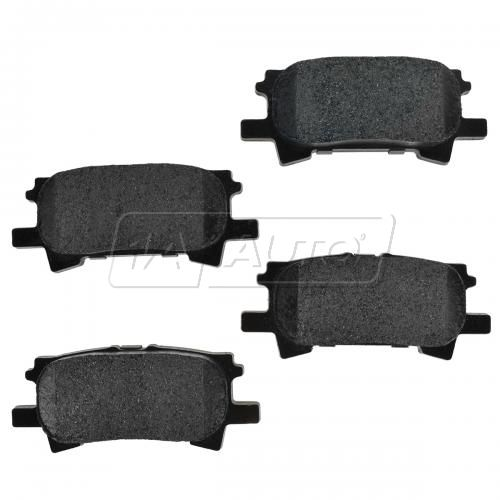 Rear Premium Posi Metallic Disc Brake Pads (MD966)