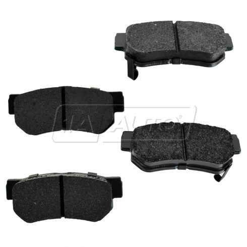 Rear Premium Posi Ceramic Disc Brake Pads (CD813)