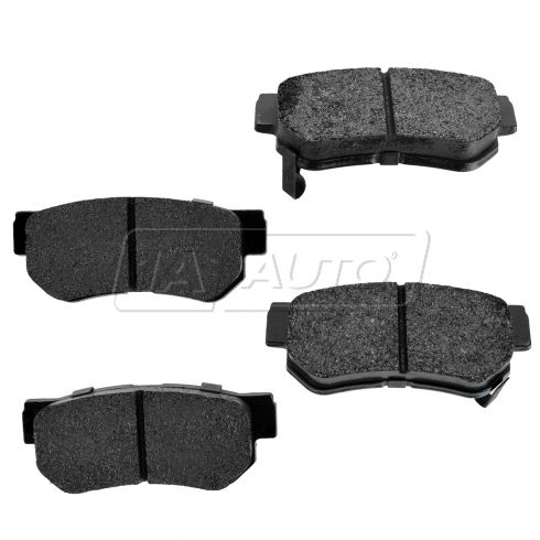 Rear Premium Posi Metallic Disc Brake Pads (MD813)